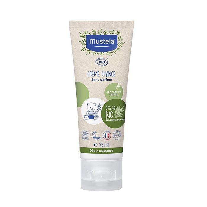 Image of Mustela Bio Crème Voor Luierwissel 75ml