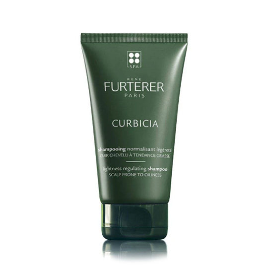 Image of René Furterer Curbicia Normaliserende Shampoo Vette Hoofdhuid 150ml