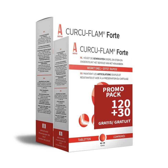 Image of Curcu-Flam Forte Promo 120 + 30 Tabletten GRATIS