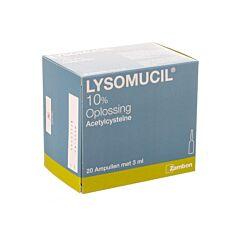 Lysomucil 10% Solution Toux Grasse 20 Ampoules x 3ml