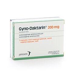 Gyno-Daktarin 200mg Capsule Molle Vaginale 7 Pièces