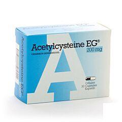 Acetylcysteine EG 200mg 30 Gélules