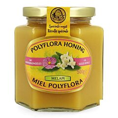 Melapi Miel Polyflora à la Gelée Royale Pot 500g