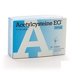 Acetylcysteine EG 200mg 30 Sachets
