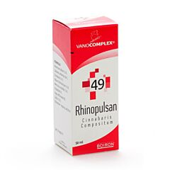 Vanocomplex N49 Rhinopulsan Gouttes Flacon 50ml