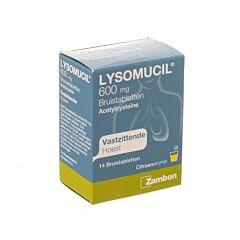 Lysomucil 600mg Toux Grasse 14 Comprimés Effervescents