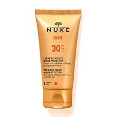 Nuxe Sun Melk Delicieux Gezicht Lichaam SPF30 Tube 150ml