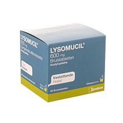 Lysomucil 600mg Toux Grasse 60 Comprimés Effervescents