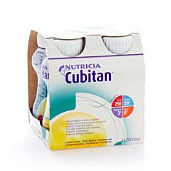 Nutricia Cubitan Vanille Bouteille 4x200ml