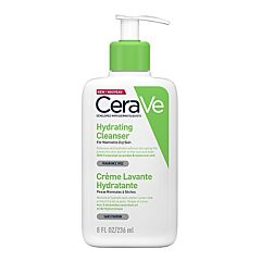 CeraVe Crème Lavante Hydratante Flacon Pompe 236ml