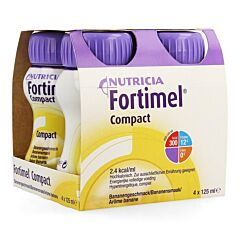 Fortimel Compact Banane Bouteille 4x125ml