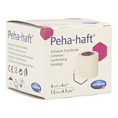 Peha-Haft Zonder Latex 4cm x 4m 1 Stuk
