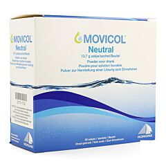 Movicol Neutrale Smaak 20x13,7g Zakjes