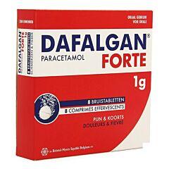 Dafalgan Forte Adultes 1g 8 Comprimés Effervescents
