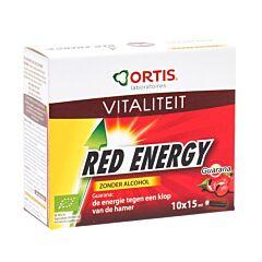 Ortis Red Energy Bio Sans Alcool 10 Fioles x 15ml