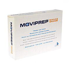 Moviprep Poudre pour Solution Buvable Goût Orange 2x2 Sachets