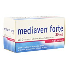Mediaven Forte 30mg Insuffisance Veineuse des Jambes 60 Comprimés Pelliculés