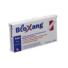 Bloxang Eponge Hémostatique Dermique Nasale & Dentaire 4x1x1cm 5 Pièces
