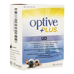 Optive Plus Solution Stérile 0,4ml x 30 Flacons