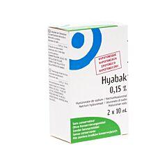 Hyabak Coll Duopack 2x10ml