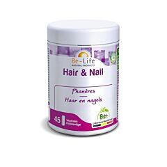 Be-Life Hair & Nail Cheveux & Ongles 45 Gélules