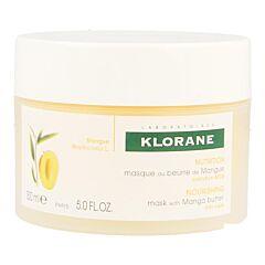Klorane Nutrition Masque Réparateur au Beurre de Mangue Pot 150ml