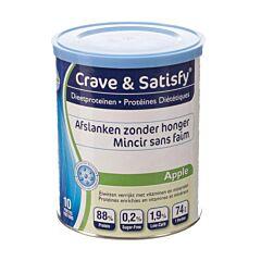 Crave & Satisfy Dieetproteinen Apple 200g