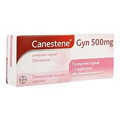 Canestene Gyn Clotrimazole 500mg 1 Comprimé Vaginal + 1 Applicateur
