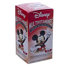 Disney Mickey Mouse Multivitamines Enfants 60 Gummies