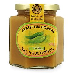 Melapi Miel dEucalyptus Solide Pot 500g