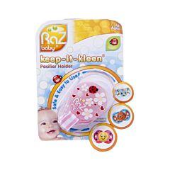 Raz Baby Keep It Clean Attache Sucette Roze