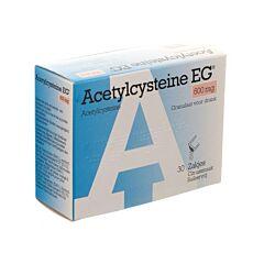 Acetylcysteine EG 600mg 30 Zakjes