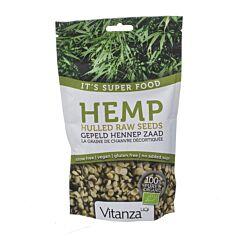 Vitanza HQ Superfood Hemp Raw Seeds-Graine de Chanvre 200g