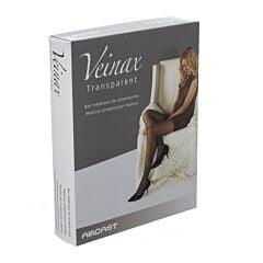 Veinax Mi Bas Transparent 2 Long Noir Taille 4