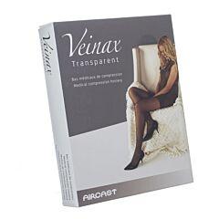 Veinax Collant Transparent 2 Long Beige Taille 4