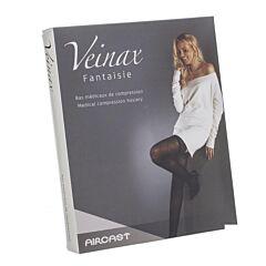 Veinax Collant Grand Losange 2 Long Noir Taille 3