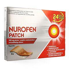 Nurofen Patch 200mg 4 Emplâtres Médicamenteux