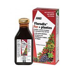 Salus Floradix Fer + Plantes Formule Liquide Flacon 500ml