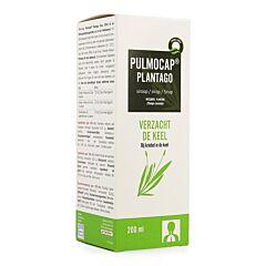 Pulmocap Plantago Sirop Flacon 200ml