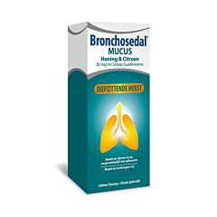 Bronchosedal Mucus Miel & Citron 20mg/ml Sirop Guaifénésine Flacon 300ml