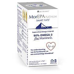 Minami Morepa Platinum Smart Fats + Vitamine D3 120 Softgels