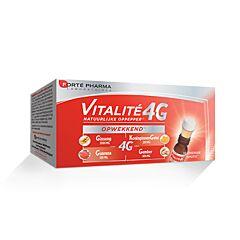 Forté Pharma Vitalité 4G Coup de Fouet Naturel Dynamisant 10 Shots Energisants