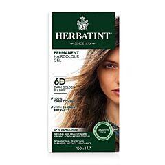 Herbatint Soin Colorant Permanent Cheveux 6D Blond Foncé Doré Flacon 150ml