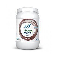 6d Sports Nutrition Power Vegan Protein Chocolate 800g