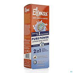 Elimax Pure Power Lotion Non Grasse Anti-Poux & Lentes Flacon 100ml NF