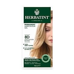 Herbatint Soin Colorant Permanent Cheveux 10N Blond Platine Flacon 150ml