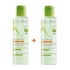 A-Derma Exomega Control Gel Lavant Emollient 2en1 Anti-Grattage Flacon PROMO DUO 2x500ml
