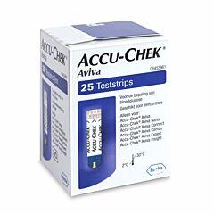 Accu-Chek Aviva Teststrips 25 Stuks