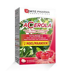 Forté Pharma Acerola Fatigue & Défenses Immunitaires 60 Comprimés à Croquer