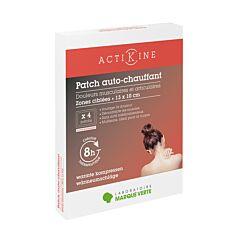 Patch Auto-Chauffant - Zones ciblées 13x10cm - 4 Pièces